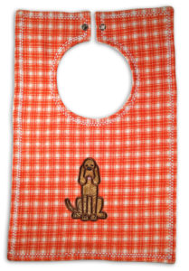 Bib For Baby - Tennessee Volunteers - Baby Bib - Toddler Size Plaid