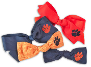 Baby Boutique Bows - Auburn Tigers - Girls Boutique Bows Hairbows - Bow Bundle